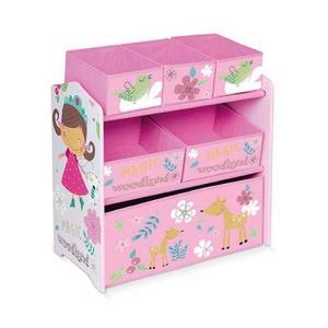 Mueble Infantil Jacinta Con Canastos 63x30x60 Cm