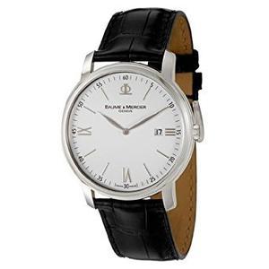 Reloj De Cuarzo Moa Baume Y Mercier Ejecutivos De Los Hombr