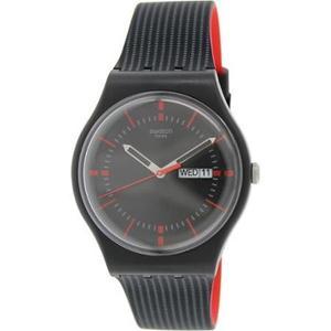 Reloj Negro Swatch Para Hombres Suob714