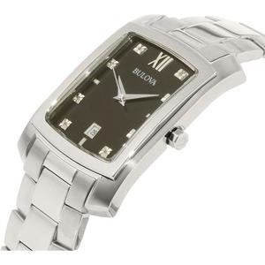 Reloj Plata Bulova Para Hombres 96d125
