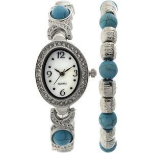 Reloj Plata Generic Para Mujeres Genwml Simaro