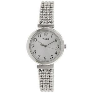 Reloj Plata Timex Para Mujeres T2p204