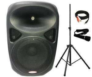 Combo Parlante/cabina Amplificada Prophonic 15p (incluye Mic