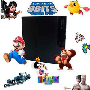 Consola De Vídeo Juegos 8 Bits Polystation Unitec Gs3 Slim