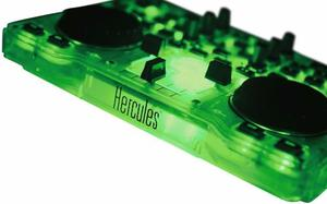Consola Dj Hercules Glow Green