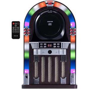 Craig Cht955 Sistema De Altavoces Bluetooth Cd Jukebox Con
