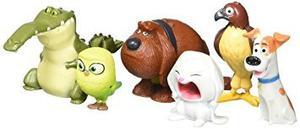 Bigoct La Vida Secreta De Animales Mascotas Mini Figuras De