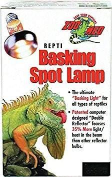 Zoo Med Repti Basking Lámpara De 50 Vatios Para Reptiles