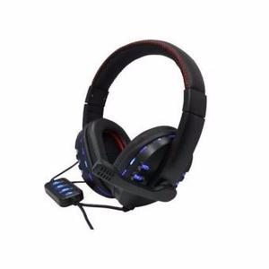 Audifono Diadema Gaming Star Tec St G3 Usb Negro Original
