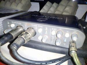 Interface De Audio Fast Track Pro
