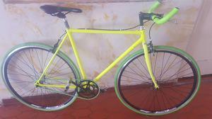 Bicicleta Fixie Tipo Ruta Como Nueva