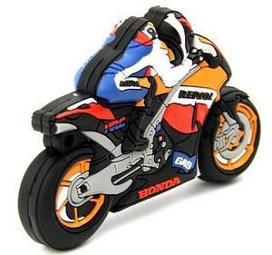Memoria Usb 16 Gb Moto Honda