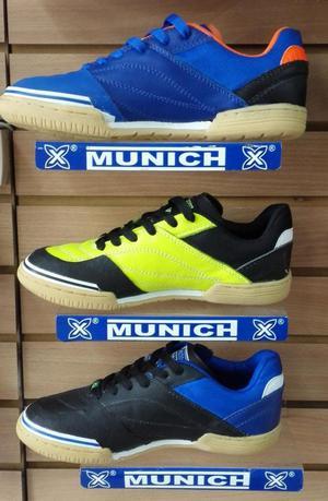 Zapatos tenis munich grexca cuero zapatillas fútsal salón ef533a6dbdbe6