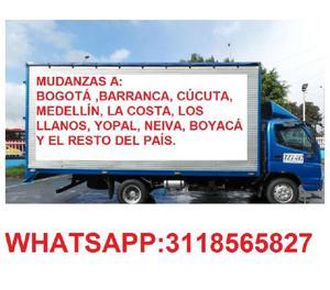 3118565827 MUDANZAS DENTRO Y FUERA DE LA CIUDAD AL MEJOR PRE
