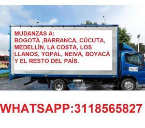 ENCOMIENDAS Y MUDANZAS A NIVEL NACIONAL 3118565827