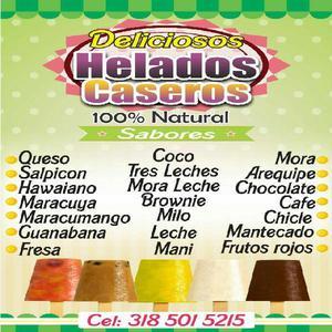 Helados Caseros - Bucaramanga