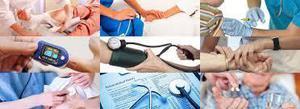 Servicio de enfermería,Cuidado de adulto mayor,Curaciones