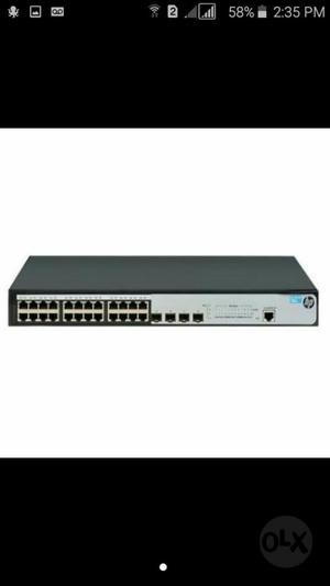 Switch Hp 24 Puertos Giga Admin