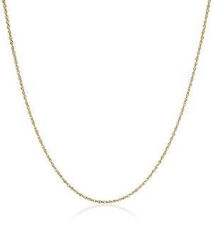 14 K Oro Amarillo Cadena Perfectina Sólido Collar !