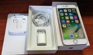 Iphone 7 de 256gb 4g Lte 12mp 4k Procesador A10 Rose Gold