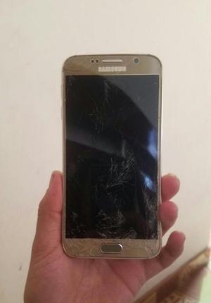 Vendo Samsung Galaxy S6 Fisurado. Cambio
