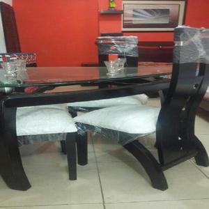 Sillas sanitarias con rodachines promocion posot class for Comedor 4 puestos vidrio