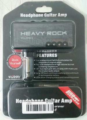 Amplificador De Auriculares Para Guitarra