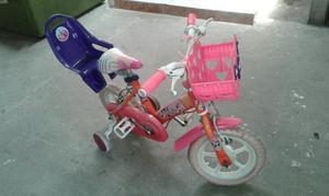Bicicleta Pequeña para Niña