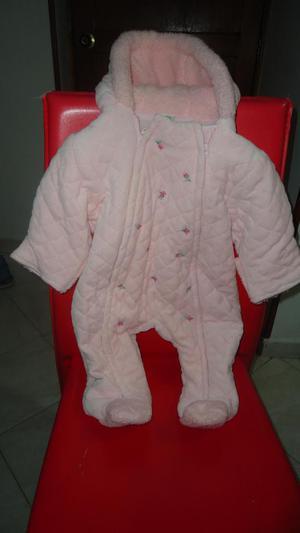 Mameluco Rosa Para Bebe De 0 A 9 Meses. 100 algodon