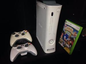 Xbox Blanco Perfecta 2 Controles Y Juegos