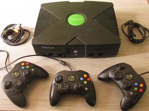 Xbox Clásica 40 Gigas 3 Controles