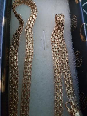 Cadena Oro Italiano 18k Nueva