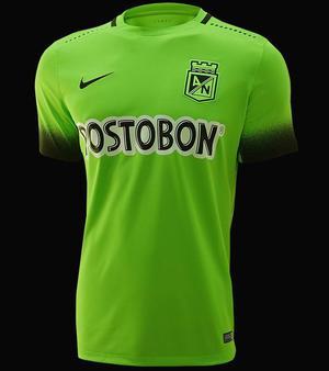 Camiseta Suplente Atlético Nacional Nike Verde Biche