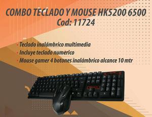 Combo Teclado Mouse Inalambrico