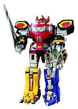 Figura Power Rangers Megazord Legado Acción