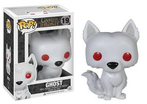 Ghost Huargo De Jon Snow Game Of Thrones Funko Pop - Lobo