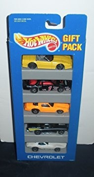 Juguete Hot Wheels 5 Coches Paquete De Regalo - Chevrolet -