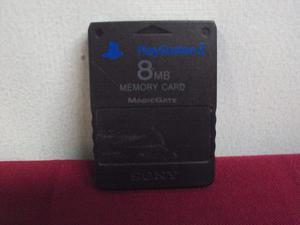 Memoria 8mb Memory Card Playstation 2 Ps2 Original Usada
