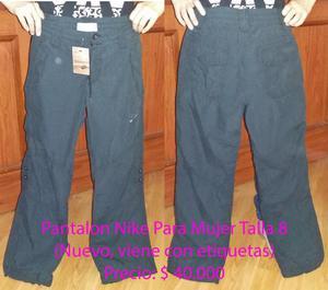 Pantalon Mujer Talla 8 Chevignon y Nike Nuevos, Originales