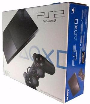 Playstation 2 - Muy Poco Uso + Memory Stick 8mb + 1 Control