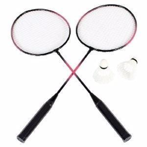 Raqueta Recreativa Badminton Con Gallo