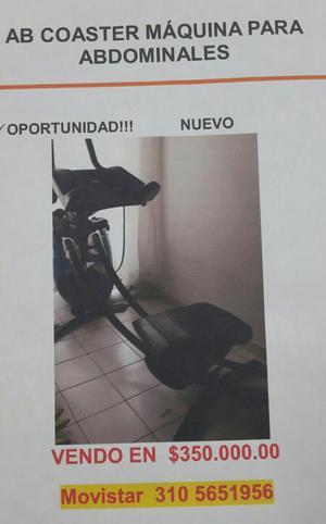 Oportunidad, Máquina para Abdominales Al