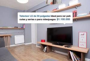 Televisor Lg De 50 Pulgadas Ideal Para Películas