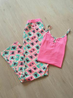 Pijamas en Pantalon Largo
