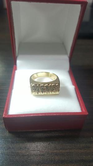 Vendo Anillo de Oro