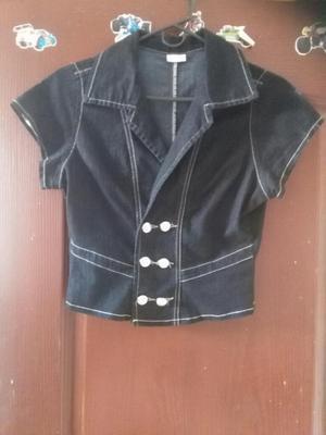 Vendo Blusa de Jeans Talla M