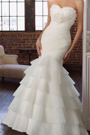 e86822e85 Vestido de novia mori lee talla 6 una postura como nuevo.