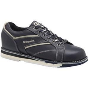 Zapatos De Bolos Brunswick Clasicc Navy Color Negro Y Crema