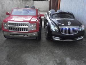 Carros Electricos Para Niños Mercedes Y Chevrolet Silverado