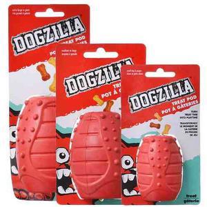 Dogzilla Treatpod (juguete Goma Resistente Interactivo) S